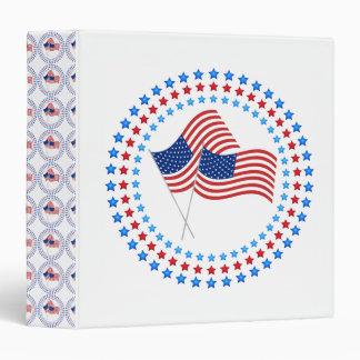 Círculos dobles de la estrella de la bandera