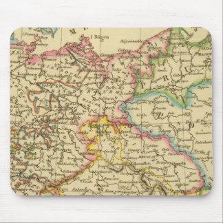Círculos en Alemania en 1789 Alfombrillas De Ratón