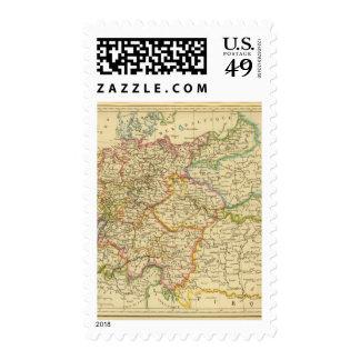 Círculos en Alemania en 1789 Franqueo