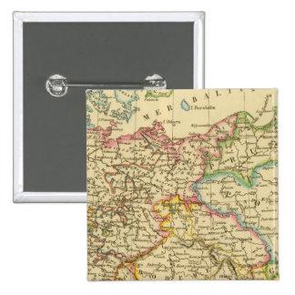 Círculos en Alemania en 1789 Pin Cuadrada 5 Cm