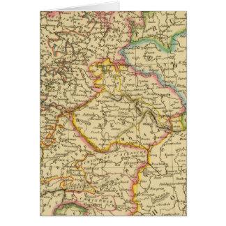 Círculos en Alemania en 1789 Tarjeta De Felicitación