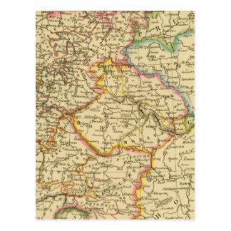 Círculos en Alemania en 1789 Tarjetas Postales