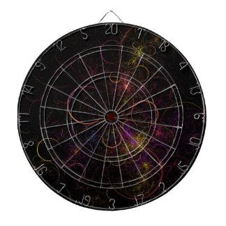 Círculos en colores pastel tabla dardos