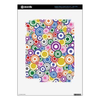 Círculos enojados de la MOD iPad 3 Pegatinas Skins