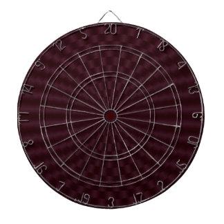 Círculos geométricos de color rojo oscuro tablero dardos