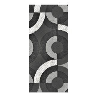 Círculos geométricos de la MOD de la mirada multi Tarjetas Publicitarias Personalizadas