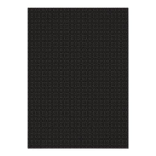 Círculos grises de lujo en fondo negro comunicado personalizado