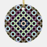 Círculos invertidos ornamentos de reyes