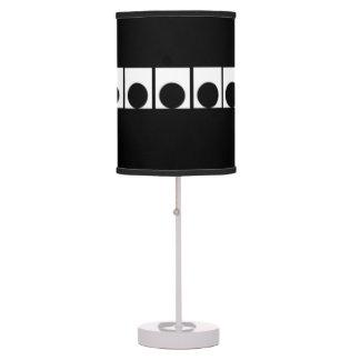 círculos lámpara de mesa
