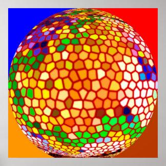 Círculos mágicos - bolas de cristal asombrosas V1 Póster
