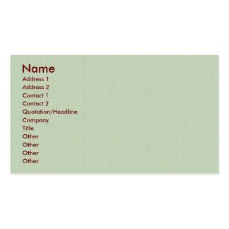 círculos marrones claros elegantes del damasco en  tarjeta de negocio