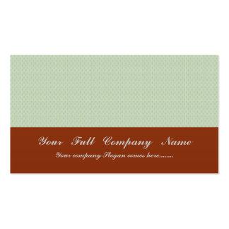 círculos marrones claros elegantes del damasco en  tarjeta de visita