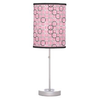 Círculos modernos de los mediados de siglo rosado