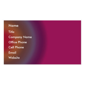 Círculos multicolores tarjetas de visita