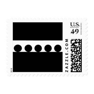 círculos negros sellos