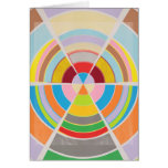 Círculos perfectos - rueda de color felicitaciones