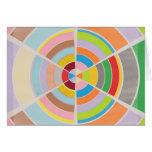 Círculos perfectos - rueda de color tarjetas