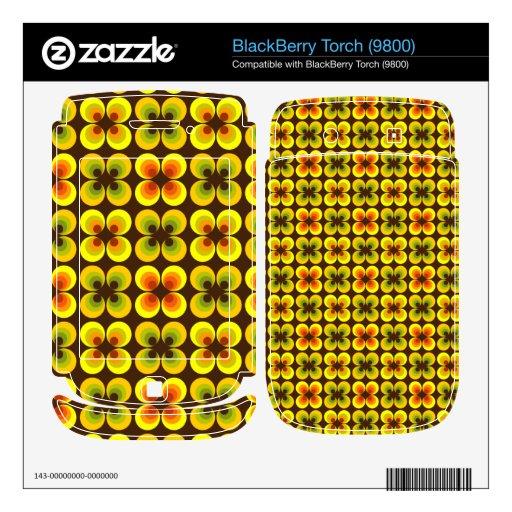 Círculos psicodélicos BlackBerry skins