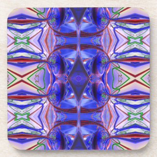 Círculos púrpuras posavasos de bebidas