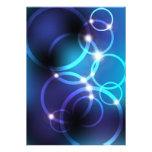 Círculos que brillan intensamente