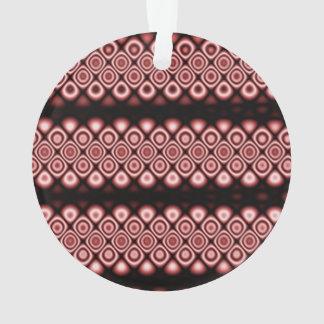 Círculos que brillan intensamente modernos,