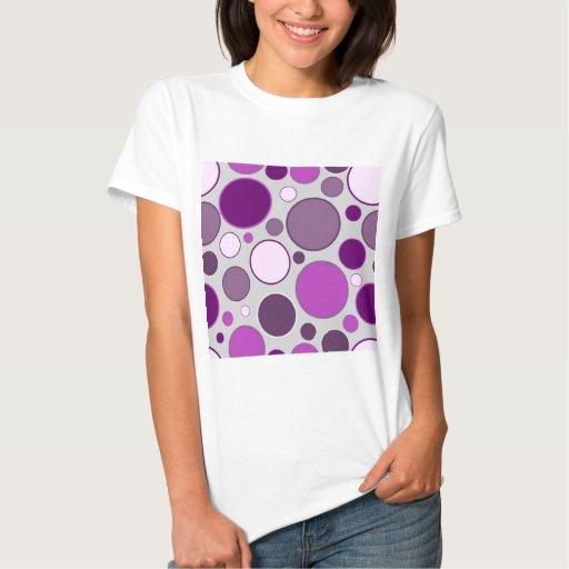 círculos retros camisetas