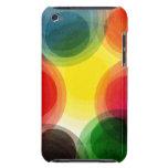 Círculos retros coloridos iPod touch Case-Mate coberturas