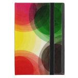 Círculos retros coloridos iPad mini carcasa