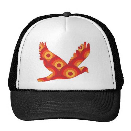 Círculos retros enrrollados Eagle Gorros