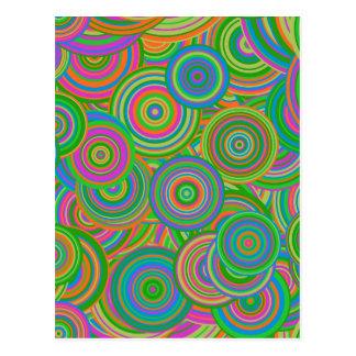 círculos retros postales