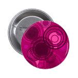 Círculos rosados de Abstact Pins