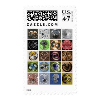 círculos sellos