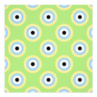 Círculos verdes de la combinación cojinete