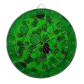 Círculos verdes y negros