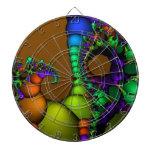 Círculos y burbujas del fractal tablero dardos