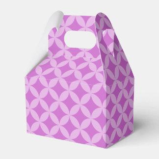 Círculos y caja elegantes del favor de los caja para regalo de boda