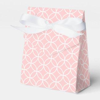Círculos y caja elegantes del favor de los caja para regalos