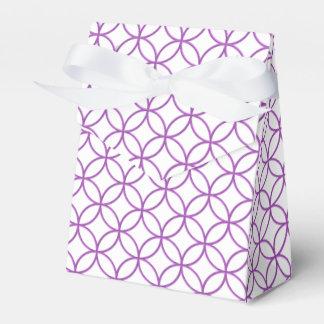 Círculos y caja elegantes del favor de los cajas para regalos de fiestas