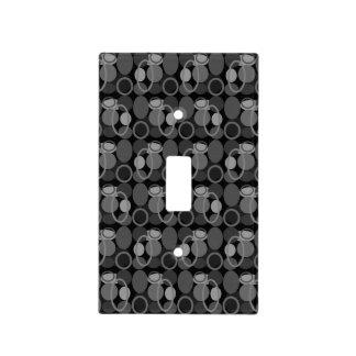 Círculos y cubierta de interruptor de la luz de tapas para interruptores