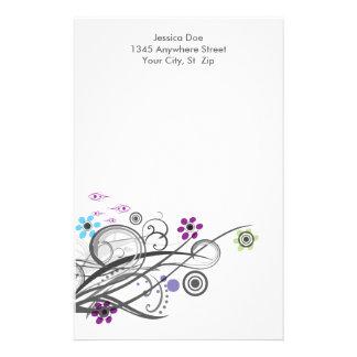 Círculos y efectos de escritorio personalizados  papeleria