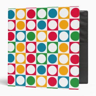 Círculos y modelo coloridos de los cuadrados