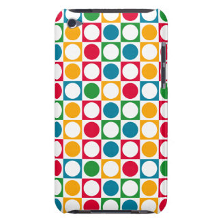 Círculos y modelo coloridos de los cuadrados iPod Case-Mate carcasas