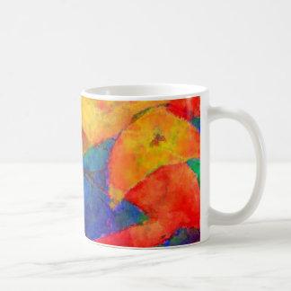 Círculos y redondeces taza de café