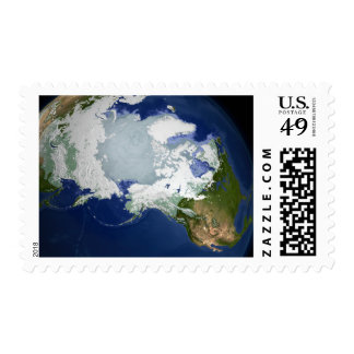 Circum-Arctic permafrost Postage