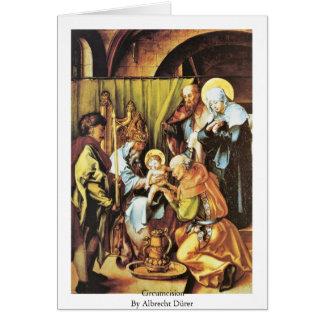 Circumcision By Albrecht Dürer Card