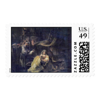 Circumcision By Rembrandt Harmensz. Van Rijn Stamps