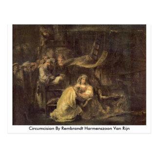 Circumcision By Rembrandt Harmenszoon Van Rijn Postcard