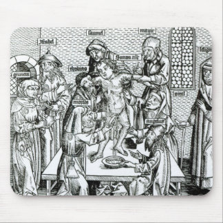 Circumcision, from 'Liber Chronicarum' Mouse Pad
