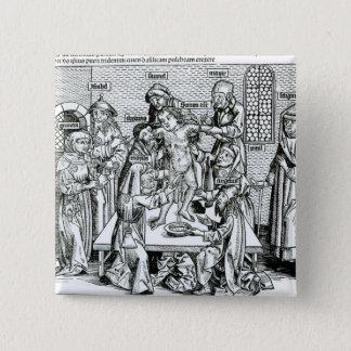 Circumcision, from 'Liber Chronicarum' Pinback Button