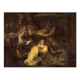 Circumcision of Christ by Rembrandt Postcard